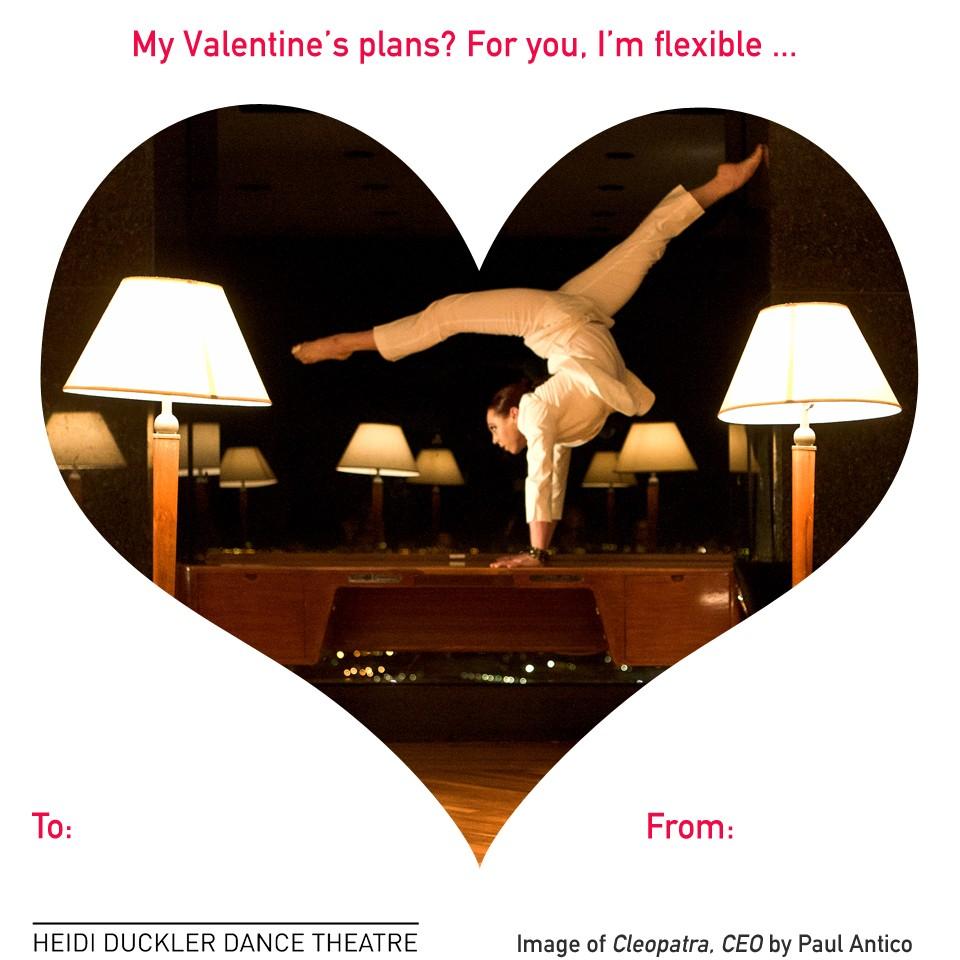 Happy Valentine's Day, from Heidi Duckler Dance Theatre