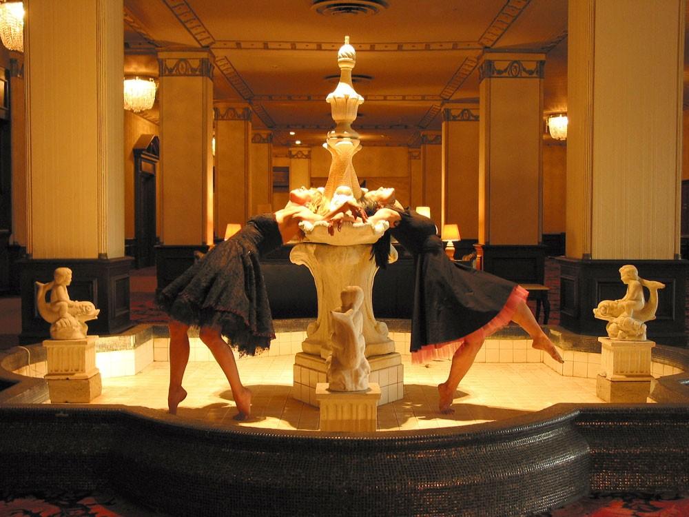 Heidi Duckler Dance Theatre's sleeping with the Ambassador