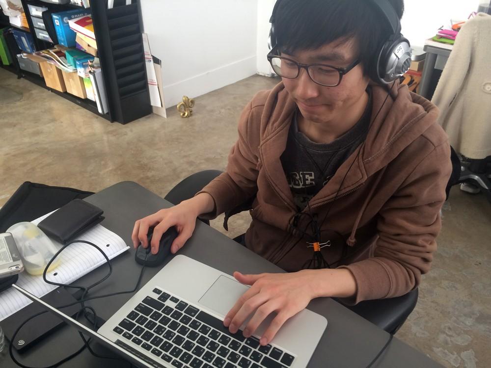 Heidi Duckler Dance Theatre intern Andrew Cho
