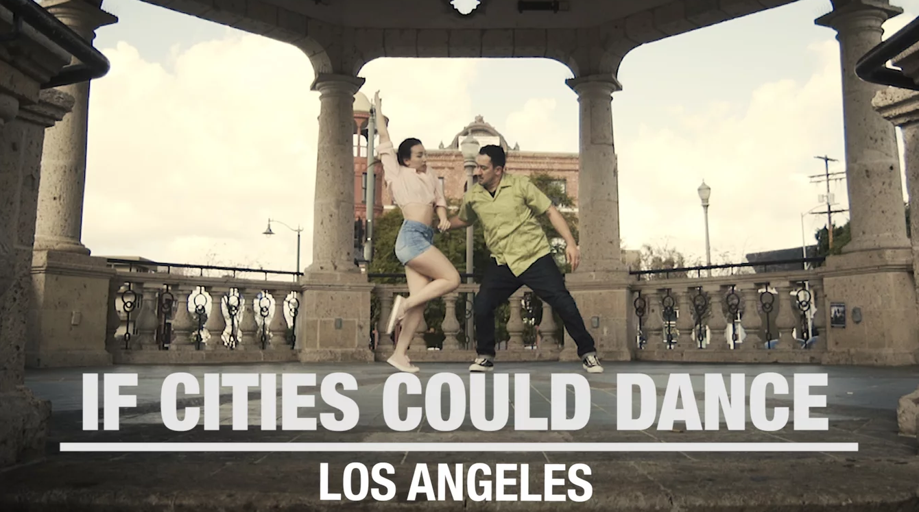 news: KQED ARTS: Dancers Spin Through a Los Angeles Rarely Seen on the Silver Screen