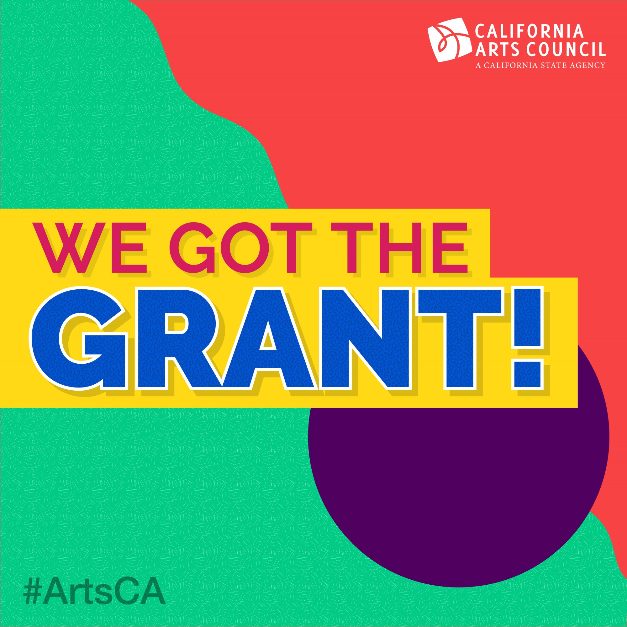 news: we got the grants!